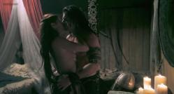 Natassia Malthe nude side boob and sex - Vikingdom (2013) hd720p