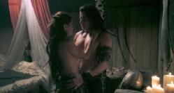 Natassia Malthe nude side boob and sex - Vikingdom (2013) hd720p