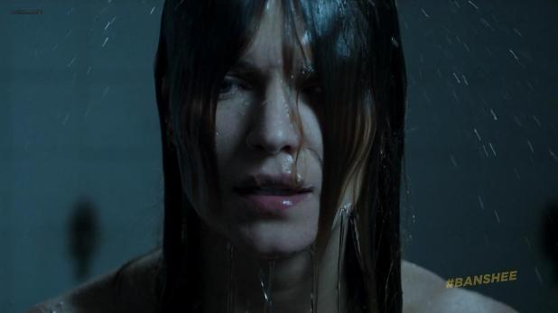 Ivana Milicevic nude side boob and butt naked in the shower - Banshee (2013) s2e5 hd720p