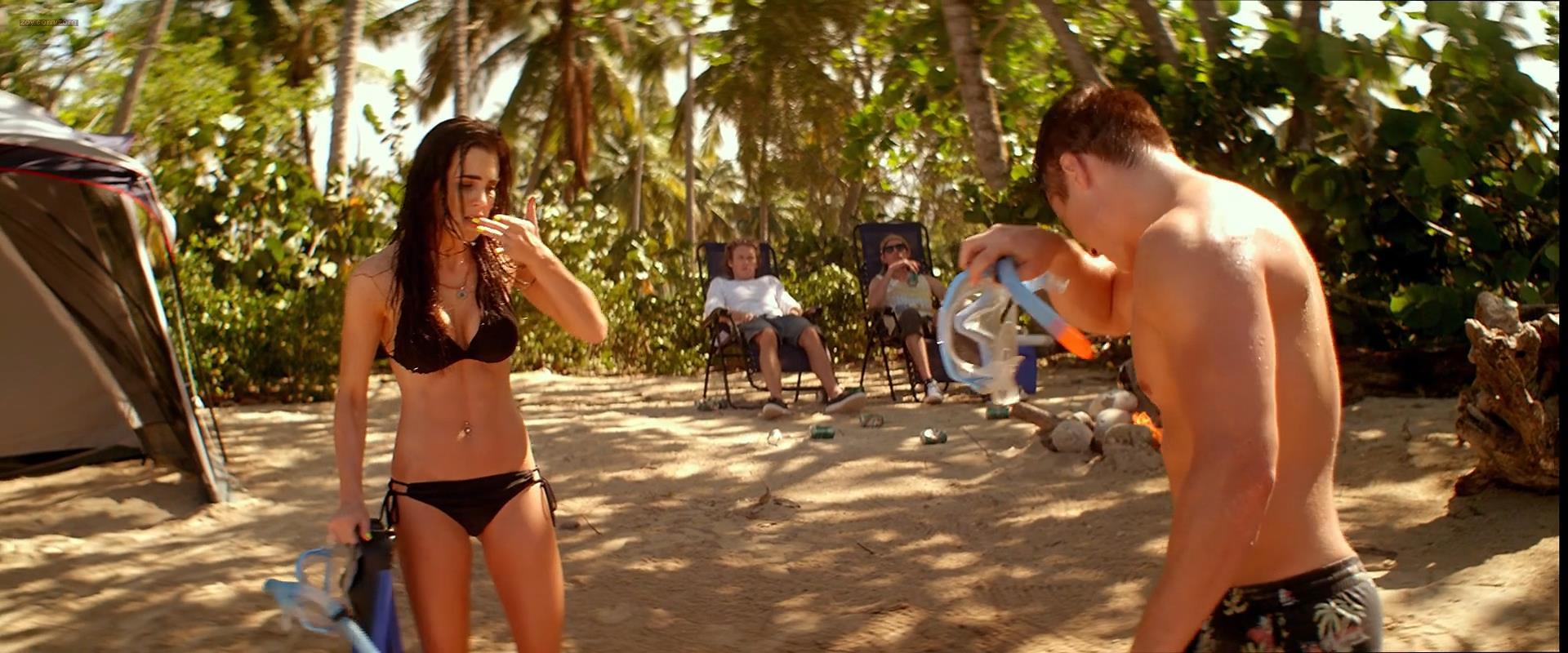 Jillian Murray nude brief topless but very hot in bikini- Cabin Fever Patient Zero (2014) hd1080p