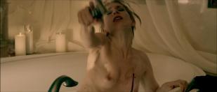 Julia Dietze nude brief topless in the bath - Bullet (2014) hd1080p