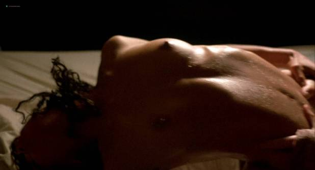 Lisa Bonet nude topless bloody and hot sex and Elizabeth Whitcraft nude topless in - Angel Heart (1987) hd1080p (10)