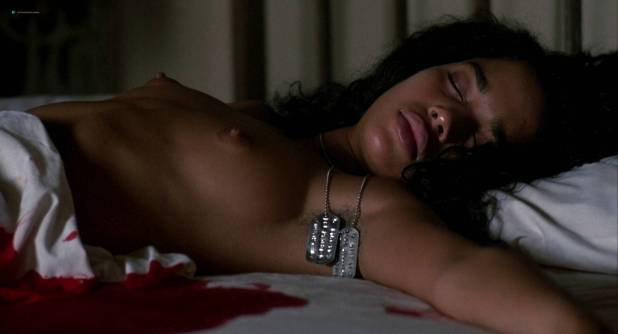 Lisa Bonet nude topless bloody and hot sex and Elizabeth Whitcraft nude topless in - Angel Heart (1987) hd1080p (3)