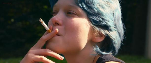 Lea Seydoux and Adele Exarchopoulos in explicit lesbian sex all nude and hot - Blue Is the Warmest Color (2013) hd1080p (7)