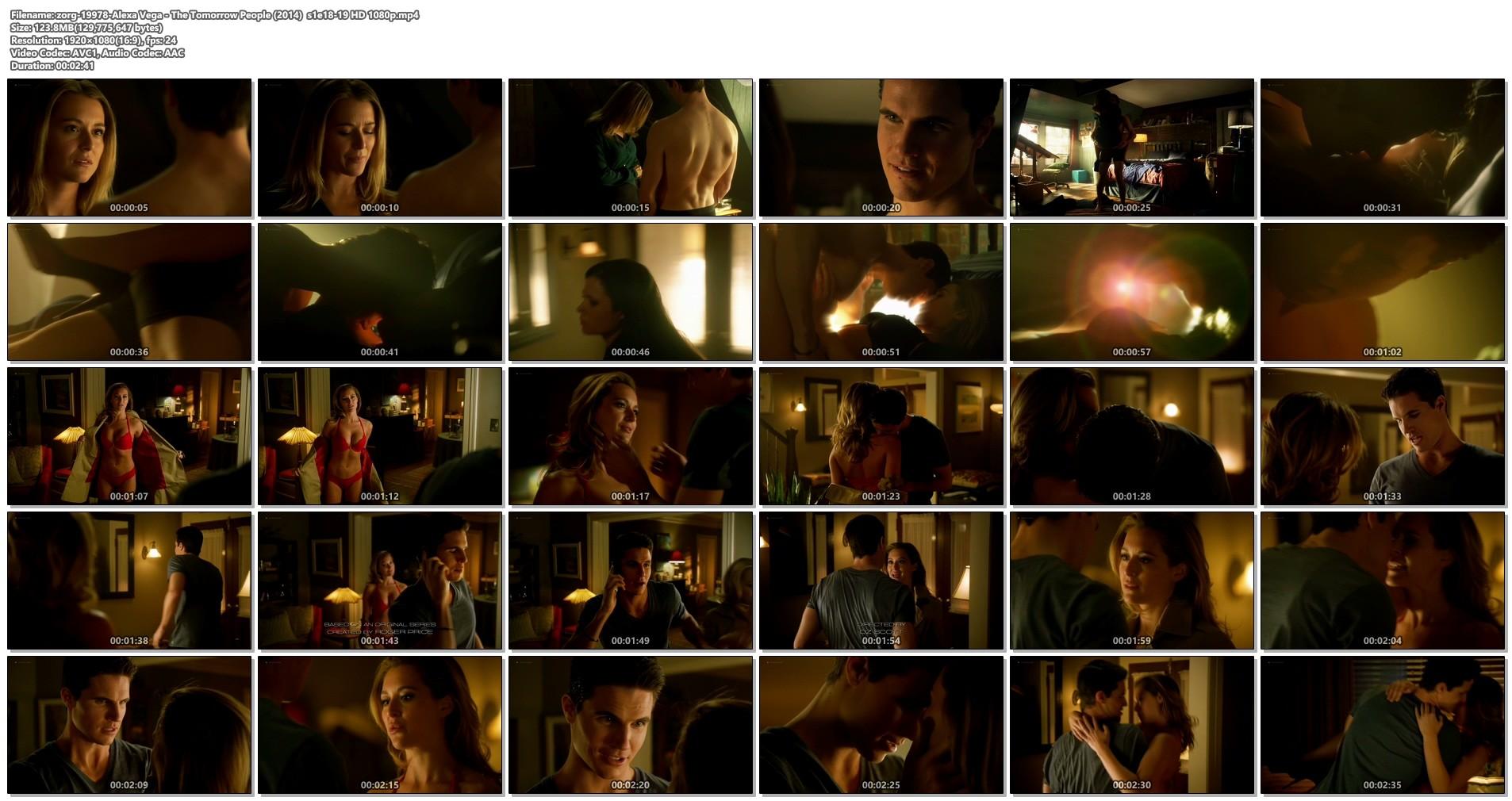 Alexa Vega hot and some sex - The Tomorrow People (2014) s1e18-19 HD (1)