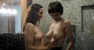 Helen Rogers nude topless and lesbian with Caroline White - 24 Exposures (2013) hd1080p