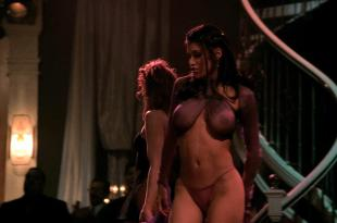 April Flowers nude stripping and topless and Rachel Sterling not nude but hot see through in – A Man Apart (2003) hd1080p