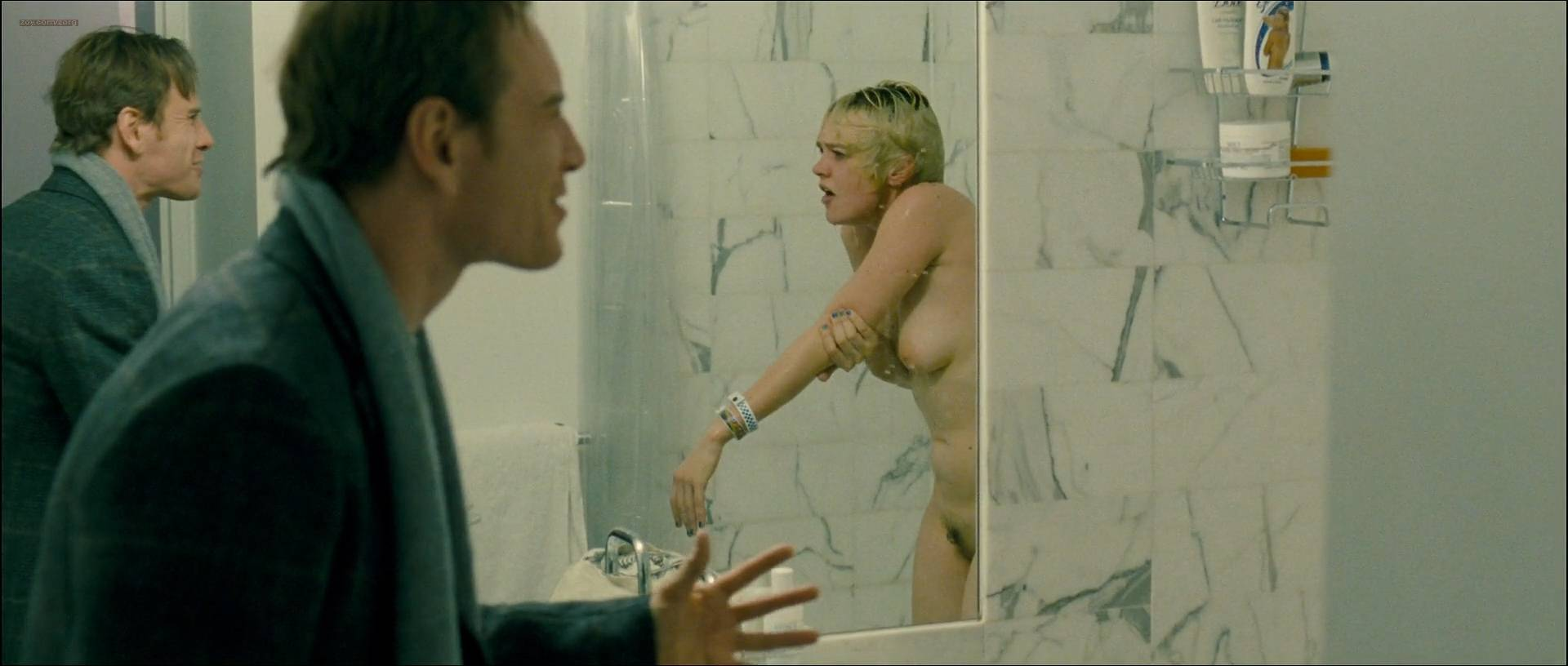 Carey Mulligan nude full frontal Nicole Beharie Amy Hargreaves and other's all nude in - Shame (2011) HD 1080p (16)