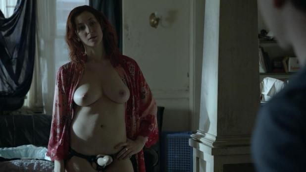 Isidora Goreshter nude topless in - Shameless (2014) s4e12 hd720p