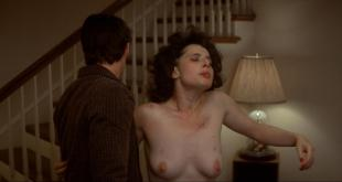 Isabella Rossellini nude full frontal bush and topless in - Blue Velvet (1986) hd1080p