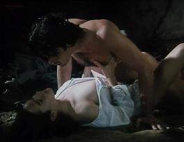 Jennifer Connelly nude nipple slip and hot sex in - Of Love and Shadows (1994)