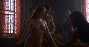 Josephine Gillan nude topless and brunet actress nude full frontal - Game of Thrones (2014) s4e1 hd720p