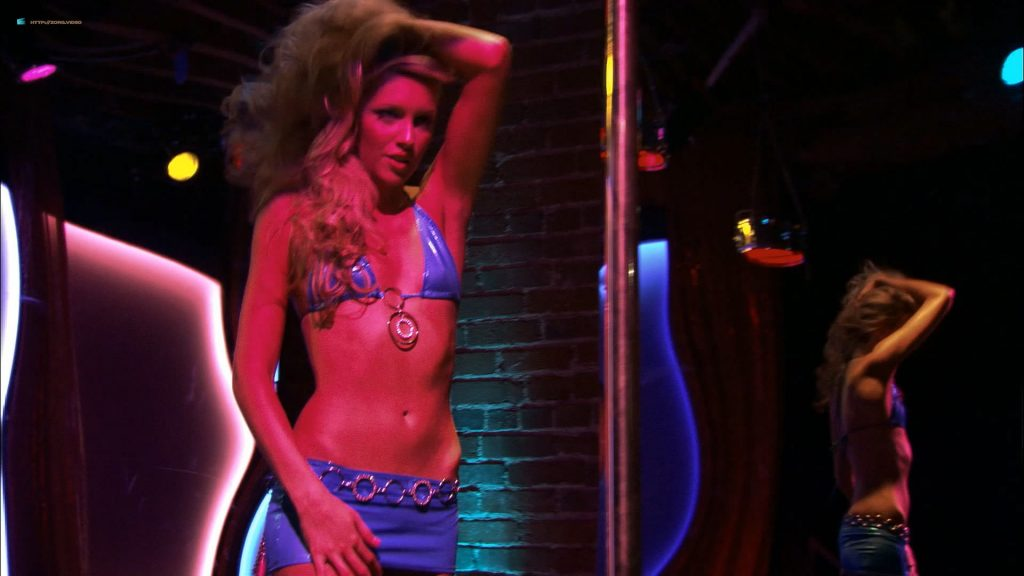 Katie Cassidy nude topless for the first time before boob job in - Live! (2007) HD 1080p (11)