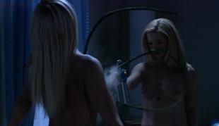 Kim Poirier nude topless Stefanie von Pfetten nude topless lesbian - Decoys (2004)