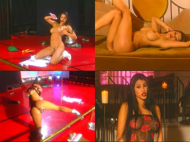 Rachel Sterling as (Angel Veil) nude full frontal pussy bush and stripping in - Disappearing Lingerie (2003)