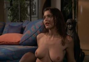 Vittoria Belvedere nude topless Simona Borioni full nude and sex threesome and Serena Grandi briefly nude and sex  - Graffiante desiderio (1993)