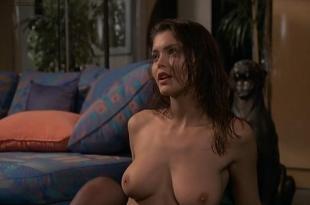 Vittoria Belvedere nude topless Simona Borioni full nude and sex threesome and Serena Grandi briefly nude and sex  – Graffiante desiderio (1993)