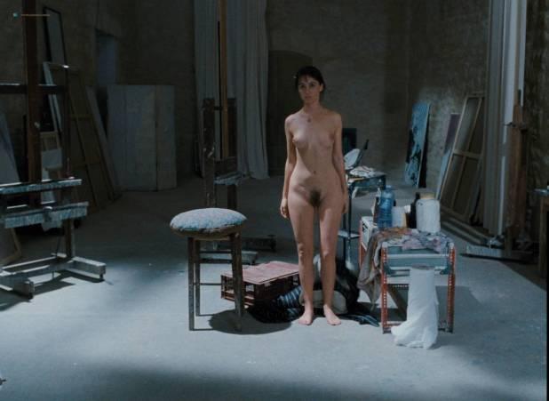 Emmanuelle Béart nude full frontal bush and nude modeling in - La belle noiseuse (FR-1991) HD 1080p BluRay (20)