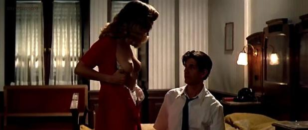 Greta Scacchi nude topless butt and very hot in - A Man in Love (1987)