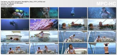 Jacqueline Bisset hot sexy see through in - The Deep (1977) hd720p