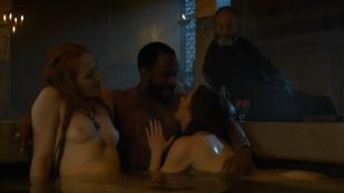 Charlotte Hope nude and sex and Sarine Sofair nude topless in the bath - Game Of Thrones (2014) s4e6 hd720p