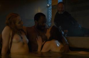 Charlotte Hope nude and sex and Sarine Sofair nude topless in the bath – Game Of Thrones (2014) s4e6 hd720p