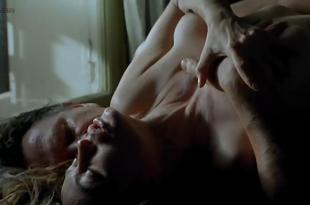 Emmanuelle Beart nude topless sex and very hot in French movie – The Story of Marie and Julien (2003)