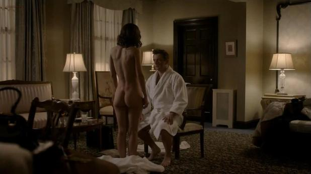 Lizzy Caplan nude topless and butt naked - Masters of Sex (2014) s2e3 hd720p (1)