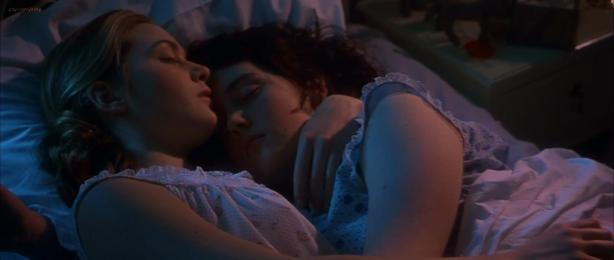 Kate Winslet and Melanie Lynskey hot lesbians in - Heavenly Creatures (1994) hd1080p (6)