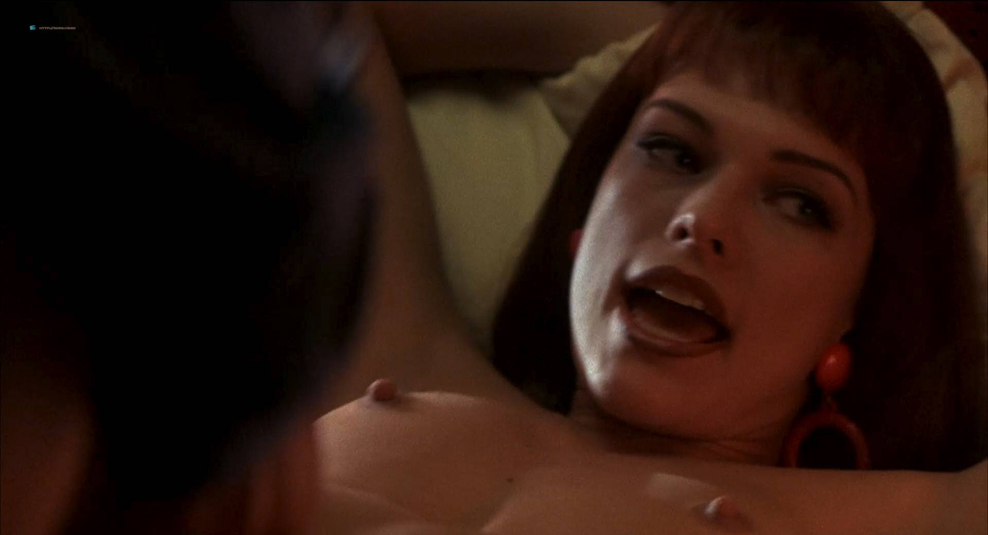 Milla Jovovic nude and sex Rosario Dawson and other's nude too - He Got Game (1998) HD 1080p BluRay (12)