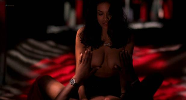 Milla Jovovic nude and sex Rosario Dawson and other's nude too - He Got Game (1998) HD 1080p BluRay (3)