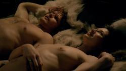 Caitriona Balfe nude topless butt an hot sex - Outlander (2014) s1e7 hd720p (14)