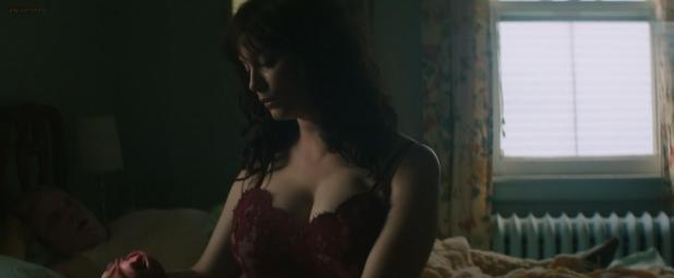 Christina Hendricks hot sex and lingerie not nude and Sophia Takal nude hand job - God's Pocket (2014) hd1080p (3)