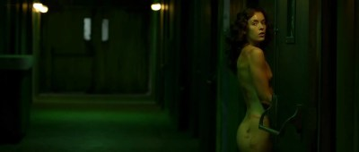 Katie Cassidy nude topless and sex and Ashlynn Yennie nude - The Scribbler (2014) hd1080p (1)