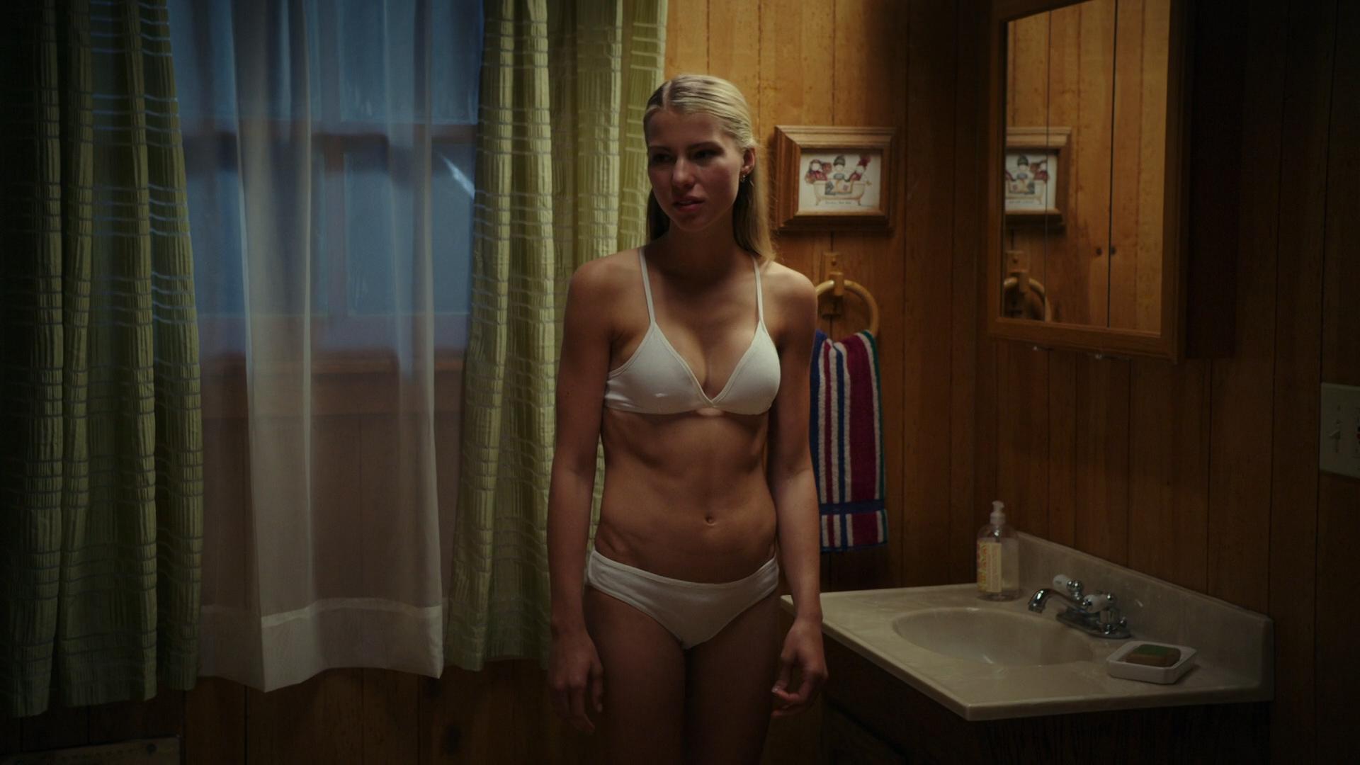 Cortney Palm nude topless and Lexi Atkins not nude but hot in bikini - Zombeavers (2014) hd1080p