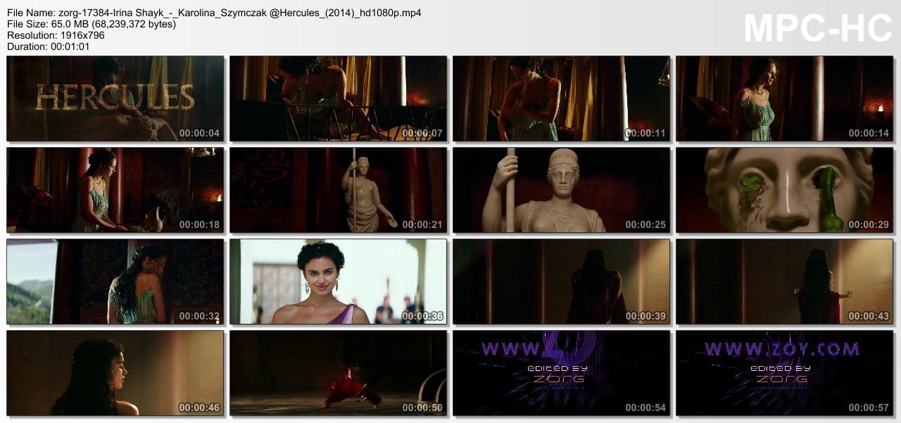 Irina Shayk nude butt and Karolina Szymczak hot see through but not nude - Hercules (2014) hd1080p (9)