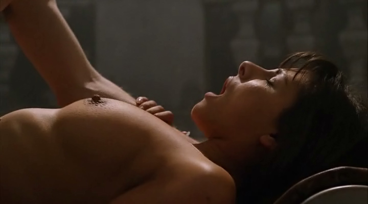 Sadie Katz nude sex Roxanne Pallett nude and hot and others all nude - Wrong Turn 6: Last Resort (2014) (11)