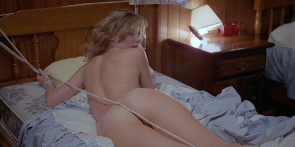 Camille Keaton nude topless Britt Helfer nude and tied up - Raw Force (1982) hd1080p (13)