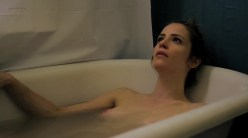 Jaime Ray Newman nude topless sex and naked in the bath Dakota Shepard nude sex but body double - Rubberneck (2013) (5)