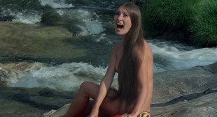Jane Seymour nude side boob and nipple and Taryn Power nude side boob - Sinbad and the Eye of the Tiger (1977) hd1080p