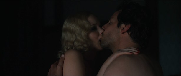 Jennifer Lawrence hot sexy some sex and great cleavage - Serena (2014) hd1080p (4)
