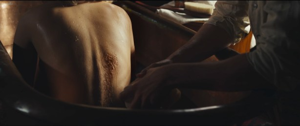 Jennifer Lawrence hot sexy some sex and great cleavage - Serena (2014) hd1080p (2)