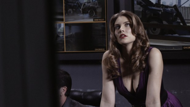 Lauren Cohan hot huge claveage and very sexy though mean - Death Race 2 (2010) hd1080p (11)