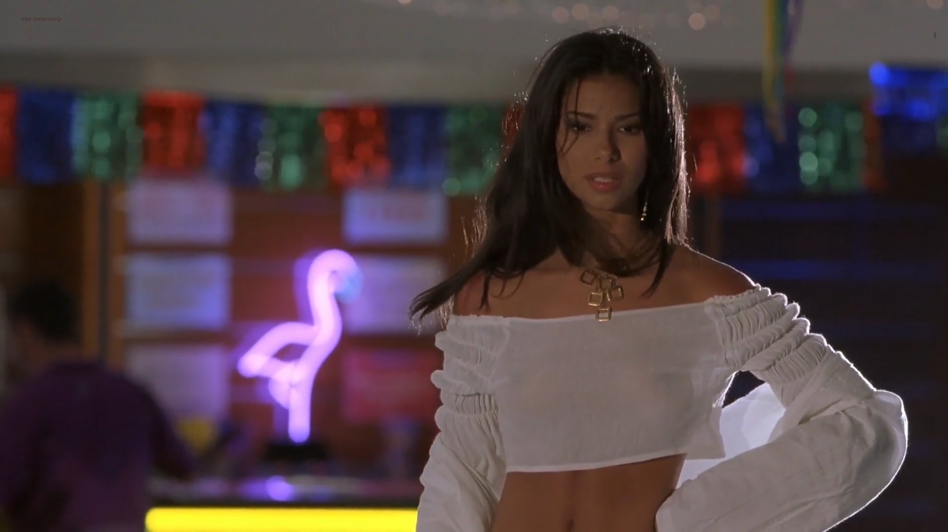Roselyn Sanchez hot Victoria Silvstedt hotin bikini Vivica A. Fox hot cleavage Deanna Brooks and others nude topless - Boat Trip (2002) hd1080p (14)