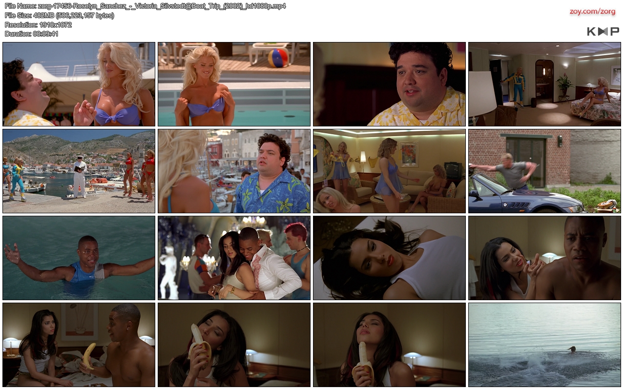Roselyn Sanchez hot Victoria Silvstedt hotin bikini Vivica A. Fox hot cleavage Deanna Brooks and others nude topless - Boat Trip (2002) hd1080p (10)