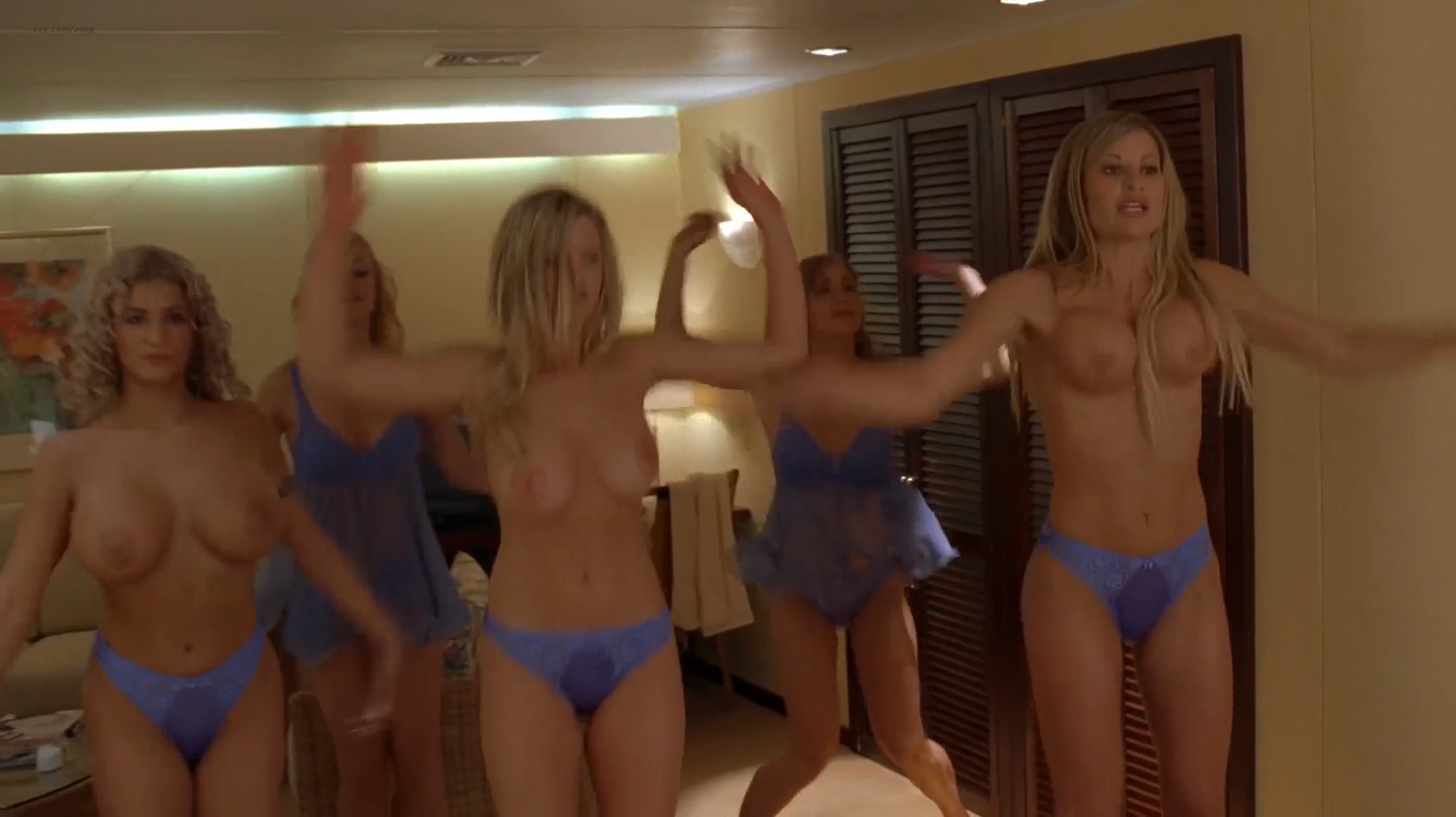 Roselyn Sanchez hot Victoria Silvstedt hotin bikini Vivica A. Fox hot cleavage Deanna Brooks and others nude topless - Boat Trip (2002) hd1080p (1)