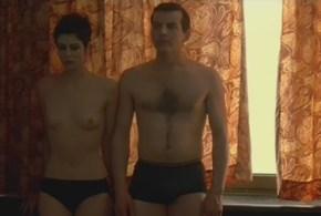 Anna Mouglalis nude bush topless and sex – La Vie Nouvelle (FR-2002)