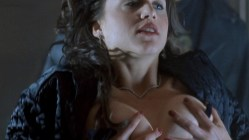 Cristi Harris nude topless and sex Zoe Trilling not nude stripping and few other nude full frontal - Night of the Demons 2 (1994) hd1080p (11)