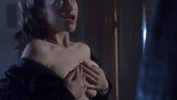 Cristi Harris nude topless and sex Zoe Trilling not nude stripping and few other nude full frontal - Night of the Demons 2 (1994) hd1080p (10)
