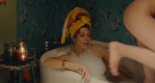 Isabelle McNally nude topless and Marisa Tomei nude nipple peak - Loitering with Intent (2014) WEB-DL hd720p (5)